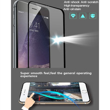 0.33mm Premium Tempered Glass film for iPhone 6 6S 4.7in 2.5D Arc Edge 9H Hard High Transparent Screen Protector with PC box