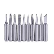 Buy 10pcs/set Lead Free Soldering Iron Head Soldering Solder Iron Tip Hakko Station 900M 933 for $3.71 in AliExpress store