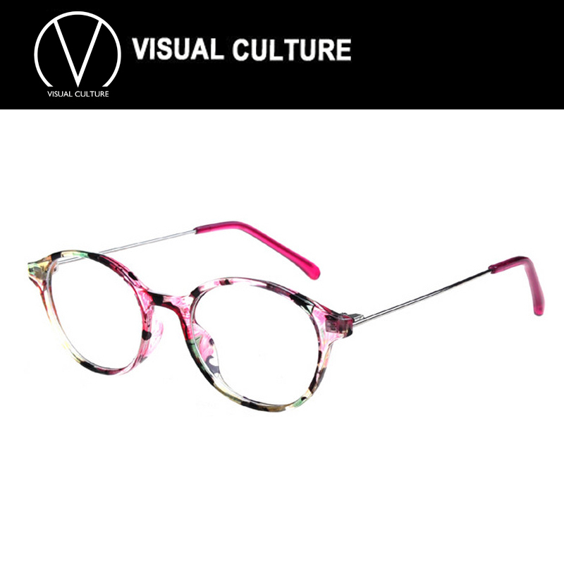 Eyeglass Frames 2015 : Fashion glasses frame women 2015 Designer Retro Round ...