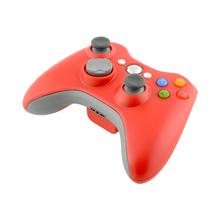 Игра беспроводной пульт дистанционного игрового контроллера геймпад Joypad для Microsoft для Xbox 360 красный подарок