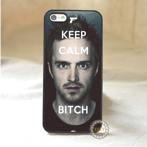 Keep Calm Bitch Jesse Pinkman Breaking Bad fashion mobile phone case cover for iphone 4 4s 5 5s 5c 6 6 plus(China (Mainland))