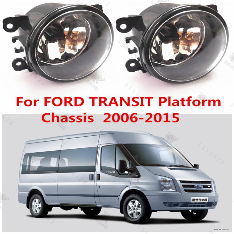 For FORD TRANSIT Platform/Chassis 2006-2015  Front Fog Lamps Fog Lights Halogen Car Styling  1 SET 1209177 620639<br><br>Aliexpress