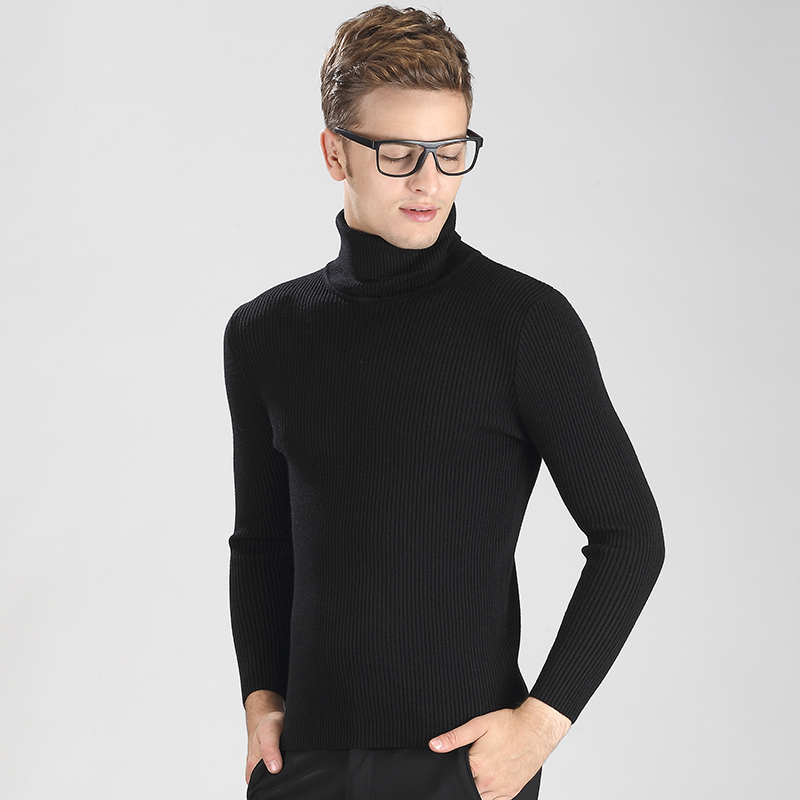 Mens Turtleneck Sweaters. Stay comfortable in long layers when you wear men's turtleneck sweaters. Perfect for wearing on a cold day or for matching with a pair of new dress pants, a turtleneck can become one of the most loved and most versatile items in your closet.. Whether you like the slim silhouette of skinny jeans or the classic style of the boot cut jean, a turtleneck sweater is an.