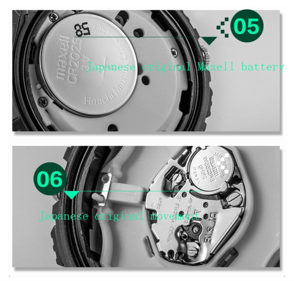 Бренд HOSKA мужские часы Кварцевые часы мужчины спорт на открытом воздухе водонепроницаемый relogio masculino Кварцевые часы h804-n