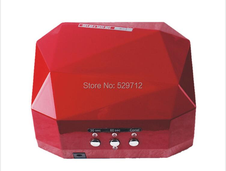 36W LED CCFL UV Lamp Nail Dryer Care Machine Gel Polish - onely min's store