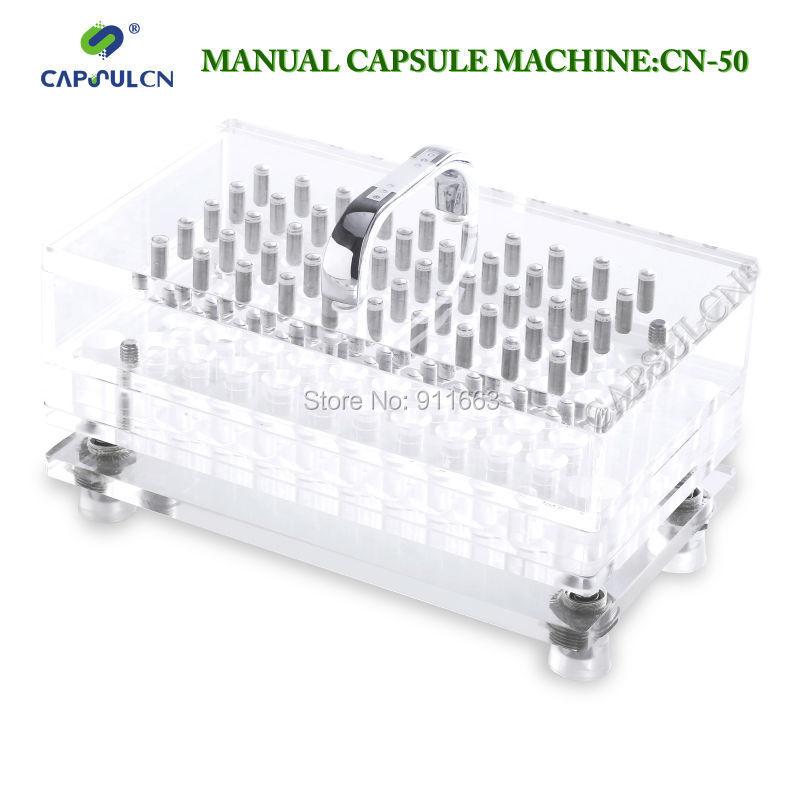 Машина для наполнения капсул CAPSULCN ! 1# , cn/50cavity + 50 cavity держатель для капсул xavax 111116 rondello silver
