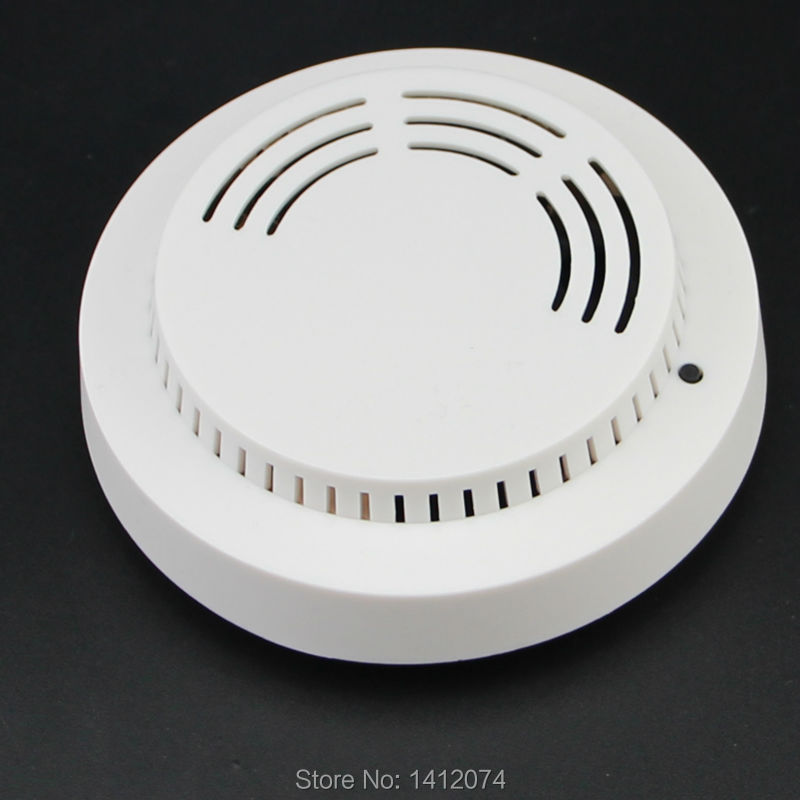 868MHZ Photoelectric wireless smoke detector fire alarm sensor 9V battery powered with test button