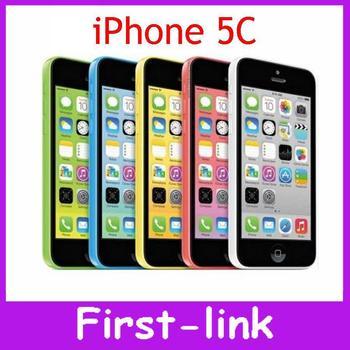 Iphone 5C завода разблокирована оригинальный 8MP IOS 8 двухъядерный 4.0 дюйм(ов) GPS wi-fi на нескольких языка мобильный телефон бесплатный телефон чехол подарок