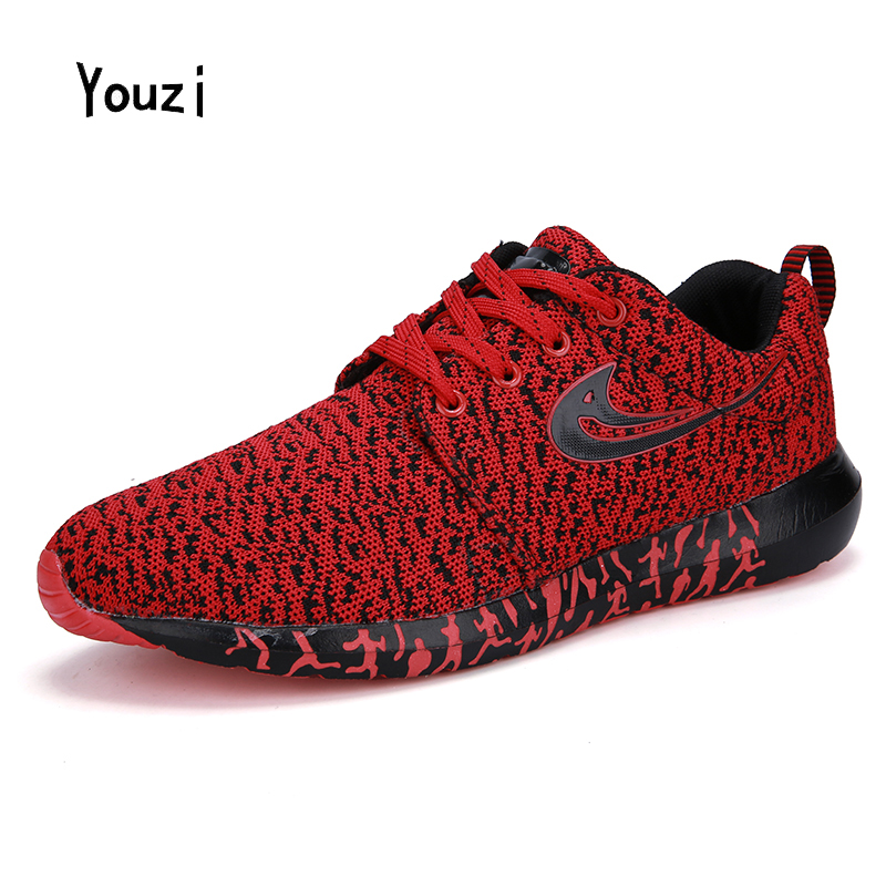 2016 New Brand Men's Running Shoes Mesh Breathable Fashion Wear Non-slip Lightweight Sports Fitness Outdoor Walking Men Sneaker(China (Mainland))