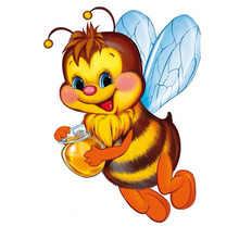 Buy Diamond Embroidery Cartoon Bees Diy 5D Diamond Painting Cross Stitch Diamond Mosaic Home Decoration Square Full Drill Painting for $5.50 in AliExpress store