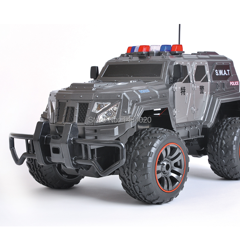 Ultra large 1:10 Drift swat remote control off-road vehicles super big RC car with led light boy toy car model(China (Mainland))