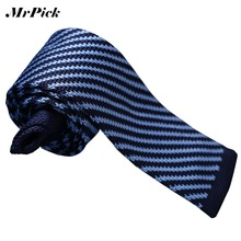 (16 Colors) Men Floral Patchwork Stripped Knitted Ties 2015 Colorful New Brand Fashion Neck Ties J1297