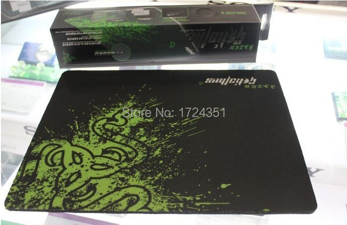 250*210*2mm locking edge Speed Edition DOTA2 razer gaming mouse mat,OEM Razer for gamer mouse pad,starcraft,lol,World of Tanks(China (Mainland))