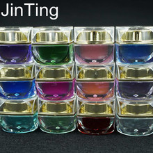 12 light therapy Manicure / glass / plastic rubber products jelly glue nail polish removable adhesive(China (Mainland))