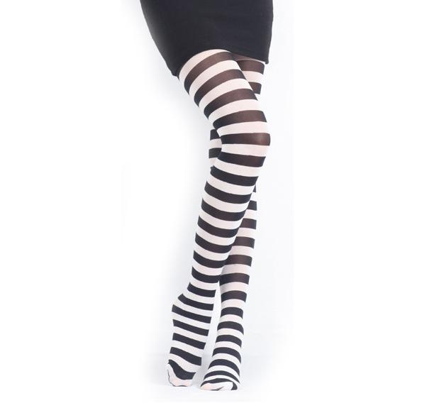 Free Shipping  Black and White Stripes Pantyhose,Milk Silk Fashion 70D Pantyhose,Europe Street Zebra Tights Promotion 3Pcs/Lot