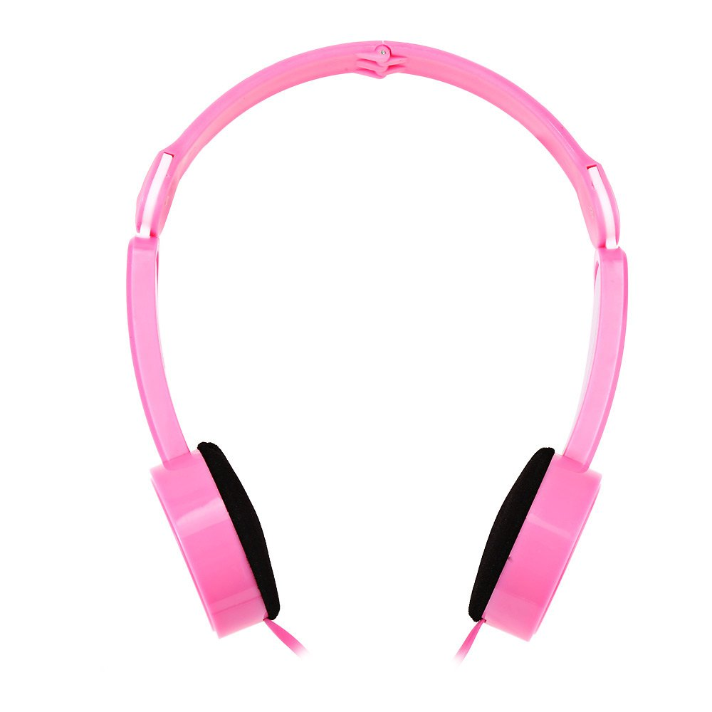 Retractable Foldable Over ear font b Headphone b font with Mic Stereo Bass for font b