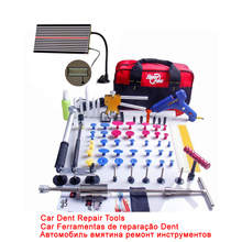 Super PDR Dent Lifter Kit Glue Puller Paintless Dent Repair Tool Bag Hail Removal 68pcs(China (Mainland))