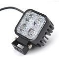 Car Motorcycle LED Spot Work Light 12W LED Light Auto Lamp White Fog Light Car Motorbike