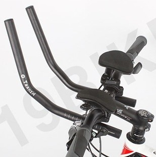 Road Mountain Bike Bicycle Bar cycling rest handlebar 25.4 Race MTB Aluminum Alloy Triathlon Aero Separated 2pcs Pipe Rest End(China (Mainland))