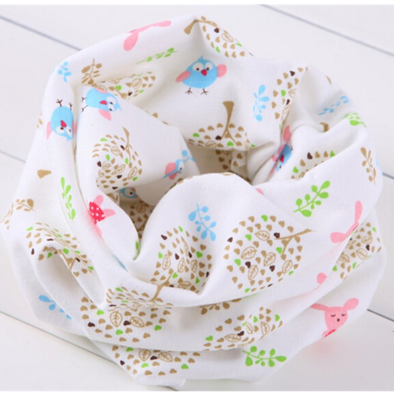 New 2016 Spring Autumn Children's cotton scarf Baby Scarf Kids boys and girls scarves Child collars O Ring magic neckerchief(China (Mainland))