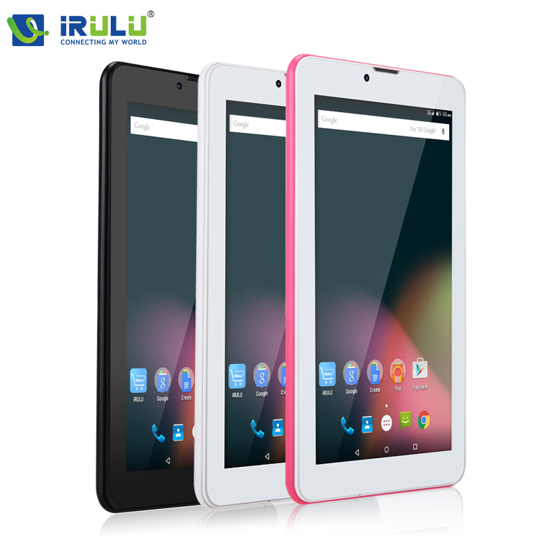 iRULU X2 7'' Tablet Android 5.1 Phablet RAM 1GB Phone Call tablet 2G/3G Dual Core Dual Cam with Google Play GPS WiFi 1024*600(China (Mainland))