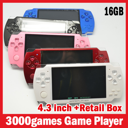 Портативная игровая консоль IME s, 16 4,3/, mp5 , 5000 16 43PSP03 рик спб psp консоль