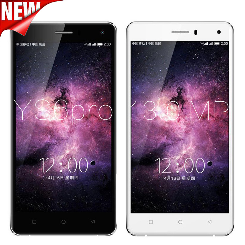 2016 Hot 5.0 inch YUNSONG YS6pro Quad Core smartphone MTK6580 2GB RAM 16GB ROM HD 13MP Dual Sim mobile phone GSM / WCDMA 3G(China (Mainland))