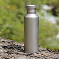 Keith My Bottle With Bag 700ml Titanium Bike Water Bottle Outdoor Camping Cycling Hiking Picnic Sport