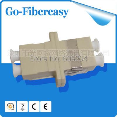 10pieces/lot LC Optical Fiber Adaptor Coupler LC/UPC Multimode Duplex 62,5/125um 50/125um  -  Shenzhen GoFibereasy Network Communication Co.,LTD store
