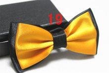 Hommes copie soie nœuds papillon pour cadeau fête noeud papillon affaires cravate papillon(China)