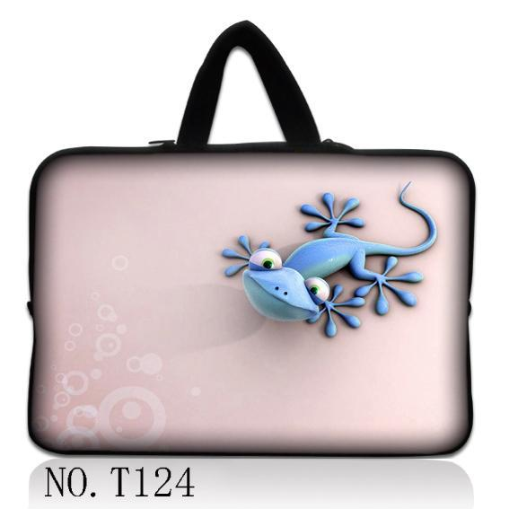 Pink Lizard Notebook Computer Laptop sleeve bag case Handbag For ipad tablet PC 7 10 11 12 13 14 15 17 inch LOGO Customizable(China (Mainland))