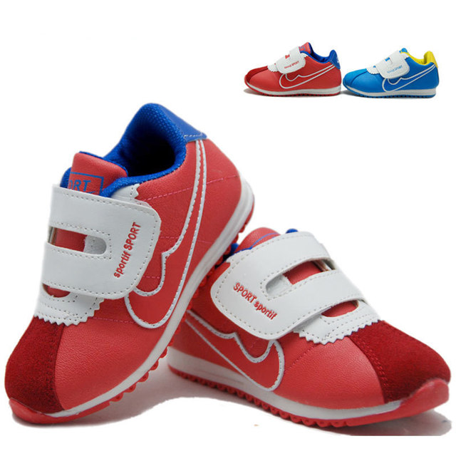 Free shipping Children baby shoes child sport shoes male female child cotton-made shoes