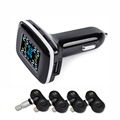 TP620 Digital Tire Pressure Monitoring System 12V Real Time Professional Wireless Smart TPMS Alarm Car Charger
