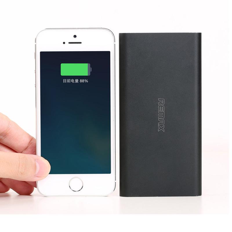 REMAX Power Bank Real 10000mAh USB External Mobile Backup Powerbank Battery for iPhone iPod iPad mobile Phone Universal Charger(China (Mainland))