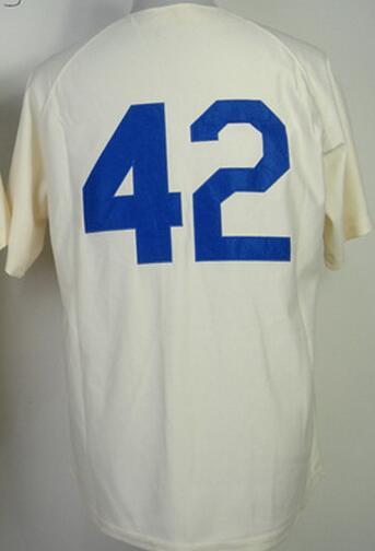 Jackie Robinson Jersey Jersey Baseball Jerseys Embroidery Logo Sports throwback Jersey Sportswear(China (Mainland))