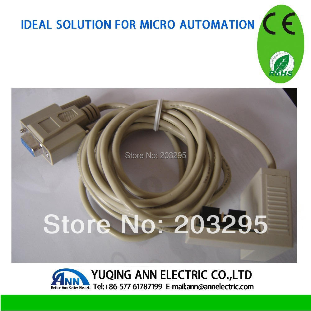 PLC Programmable calbe SR-CP, Programmable cable can edit,analog, monitor from PC ,only sell with SR PLC(China (Mainland))