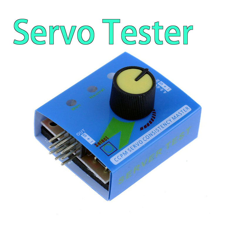 Multi Servo Tester 3CH ECS Consistency Speed Controller Power Channels CCPM Meter RC Servo Tester(China (Mainland))
