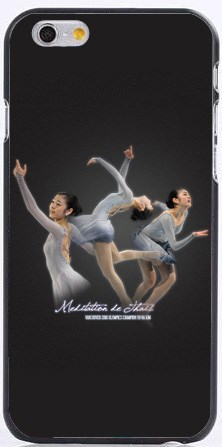 New Figure skating star Kim Yuna Plastic cases for iphone 6 case 6s 5s 5c 4s 6s plus samsung s6 s5 s4 note 4 3+free shipping(China (Mainland))