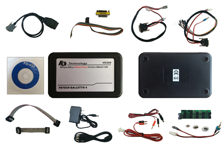 2015 Latest Version VD300 V54 FGTech Galletto 4 Master BDM-TriCore-OBD Function FG Tech ECU Programmer with Multi-langauge(China (Mainland))