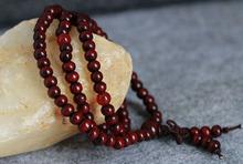 Natural 108 6mm Sandalwood Buddhist Buddha Meditation Beads Bracelets For Women Men Jewelry Prayer Bead Mala