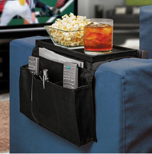 Sofa side pouch hang the bag foldable oxford cloth sofa pouch multilayer pouch wholesale vacuum bag storage organizer(China (Mainland))
