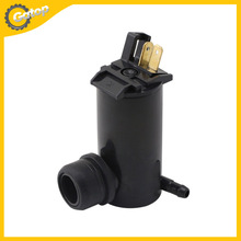 Auto Car Windshield Washer Pump 51*42*68mm Assembly Windscreen Washer Motor Pump Nozzle Diameter is 6.4mm Black(China (Mainland))
