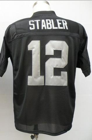 Best price#12 Ken Stabler Jersey,Throwback Football Jersey,Sport Jersey,free shipping