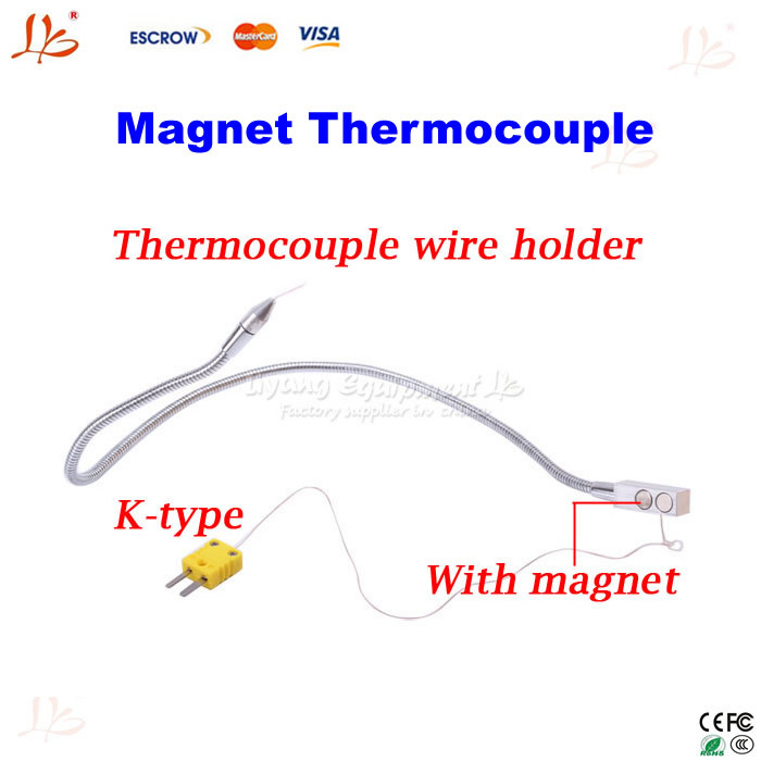 Omega Thermocouple Type T : Ly ts omega k type tc magnet thermocouple wire holder