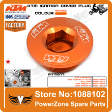 KTM Engine Igntion Cover Plug Fit KTM 250 350 450 505 450 SXF SMR EXCF XCW 690 990 1190 DUKE R SMC SM SMT SMR SUPERDUKE ADV RC8(China (Mainland))