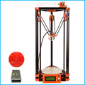 Hot bed Delta 3d Printer Kits Large 3d Printer With LCD Display