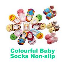Baby Childrens Socks Slippers Anti Non slip Cute GH