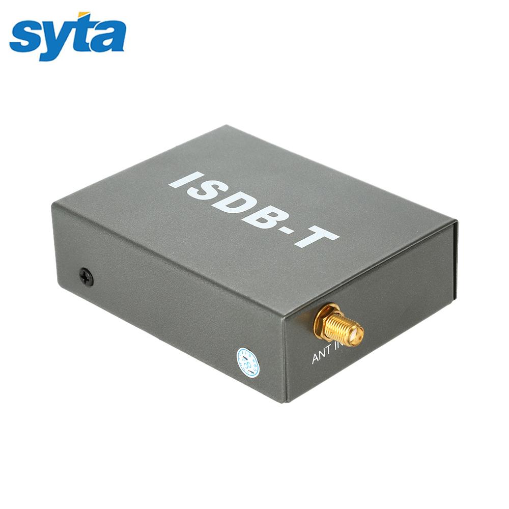 2016 Car ISDB-T Digital TV Receiver Mobile Digital Car ISDB TV Tuner MPEG4 RF Input For South America Market(China (Mainland))