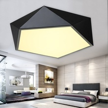 Modern minimalist LED ceiling light / geometry creative home commercial lighting(China (Mainland))