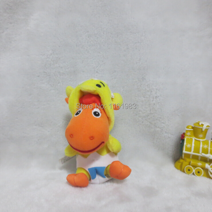 Nickelodeon's Backyardigans TYRONE the Moose 8cm Mini Plush Doll(China (Mainland))